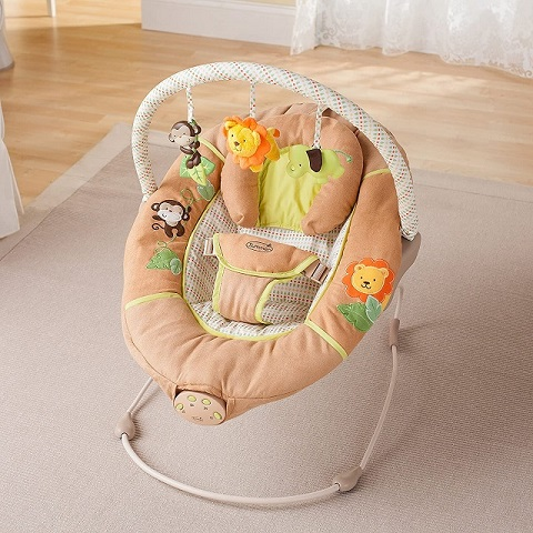 Ghế rung cho bé Summer Infant Swingin Safari